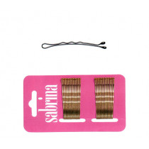 Wave bobby pins Locatelli Sabrina, 5 cm , 24 pcs