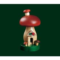 "Декоративна димяща фигура ""Гъба-къща"", 13 см"