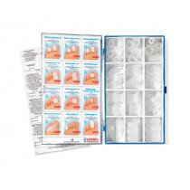 Assortment box of polymer gel items