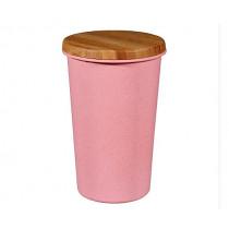 Кутия за съхранение Capventure Pink, 750 мл, бамбук