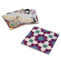 Подложки за сервиране Contento Mosaic Colorful, комплект 4 бр.
