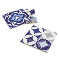 Подложки за сервиране Contento Mosaic Blue-Grey, комплект 4 бр.