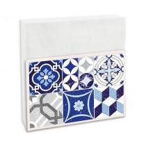 Салфетник Contento Mosaic Blue-Grey, за 50 бр. салфетки