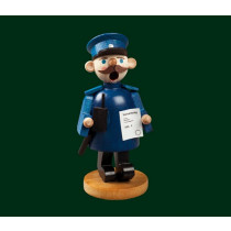 """Декоративен димящ човек """"Полицай"""", 11см"""