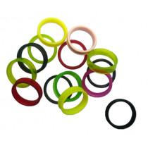 Coloured finger ring inserts, Jaguar