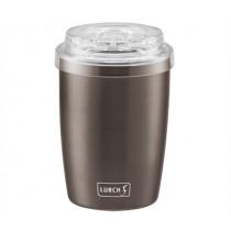 Термо чаша за мобилно ползване To Go Charcoal Grey, Lurch, инокс, 0,3 л