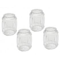 Чаши за шотове Tobar Barrel, комплект 4 бр.