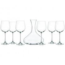 Чаши за вино с декантер Nachtmann Vivendi, комплект 7 части