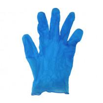 Предпазни ръкавици L, винил без пудра, 10 бр.