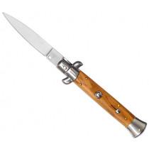 Джобен нож Robert Klaas Olive Wood, Solingen, автоматичен, острие 9 см