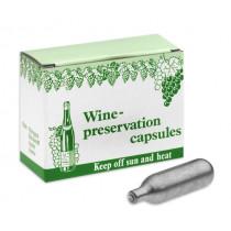 Консервиращи капсули за вино N2O, Wecomatic, опаковка 10 бр.